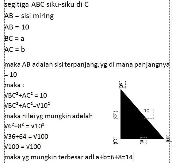 Jawaban Ayo Kita Berlatih 8.5 Matematika Kelas 7 Halaman ...