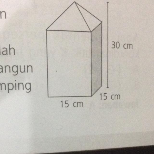 Jika perbandingan tinggi limas dan balok adalah 1 2 volume bangun jika perbandingan tinggi limas dan balok adalah 1 2 volume bangun gabungan di gambar adalahh ccuart Image collections