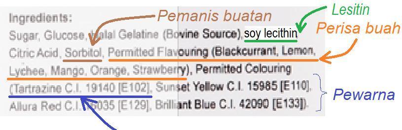 A Dinatrium 5 Ribonukleotida B Mononatrium Glutamat C Tartrazin Ci 19140 D Lesitin Zat Pewarna Brainly Co Id