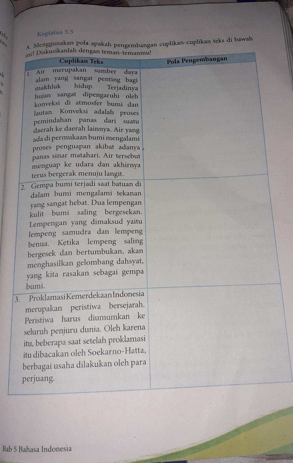 Kunci Jawaban Buku Paket Bahasa Indonesia Kelas 8 Halaman 137 Guru Galeri