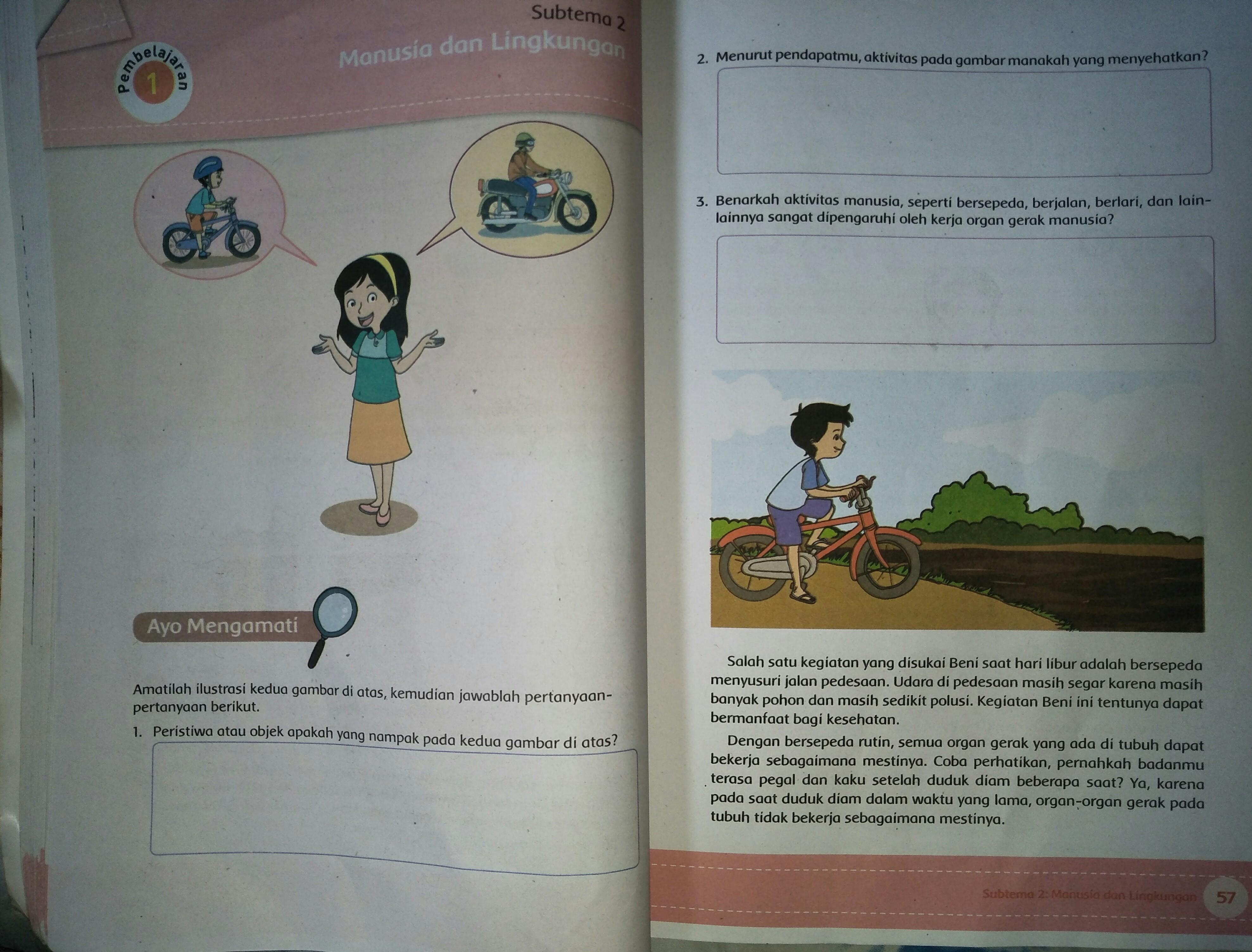 Peristiwa Atau Objek Apakah Yang Nampak Pada Kedua Gambar Diatas Sepeda Dan Motor Peristiwa Atau Objek Apakah Yang Nampak Pada Kedua Gambar Di Atas