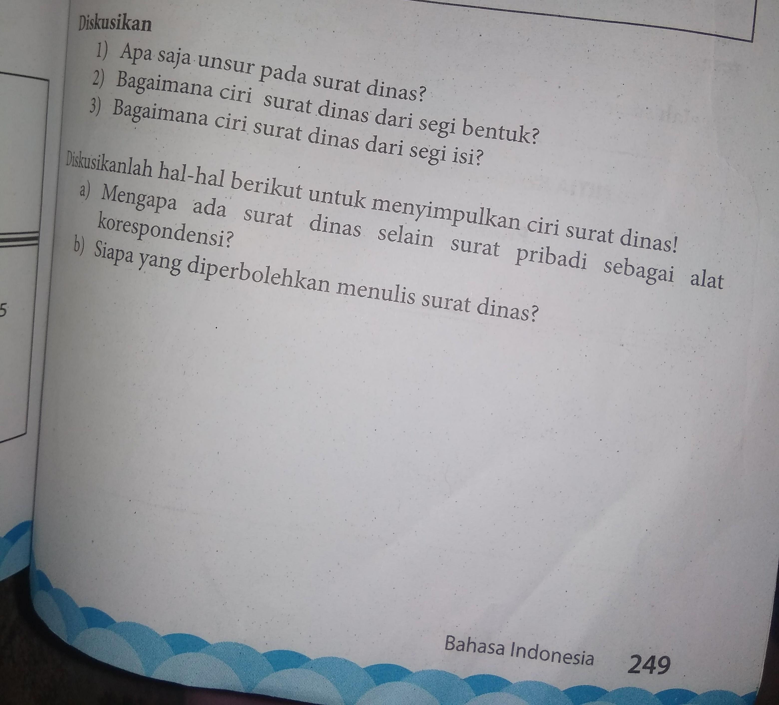 Ciri Surat Dinas Dari Segi Bentuk - Bali