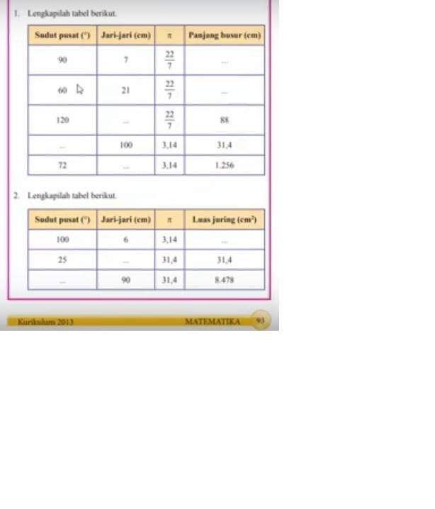 Matematika Hal 93 Kelas 8 Kurikulum 2013 Brainly Co Id