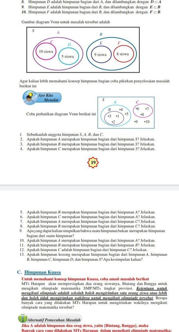 Contoh Soal Diagram Garis Pada Himpunan - Contoh Soal Dan ...