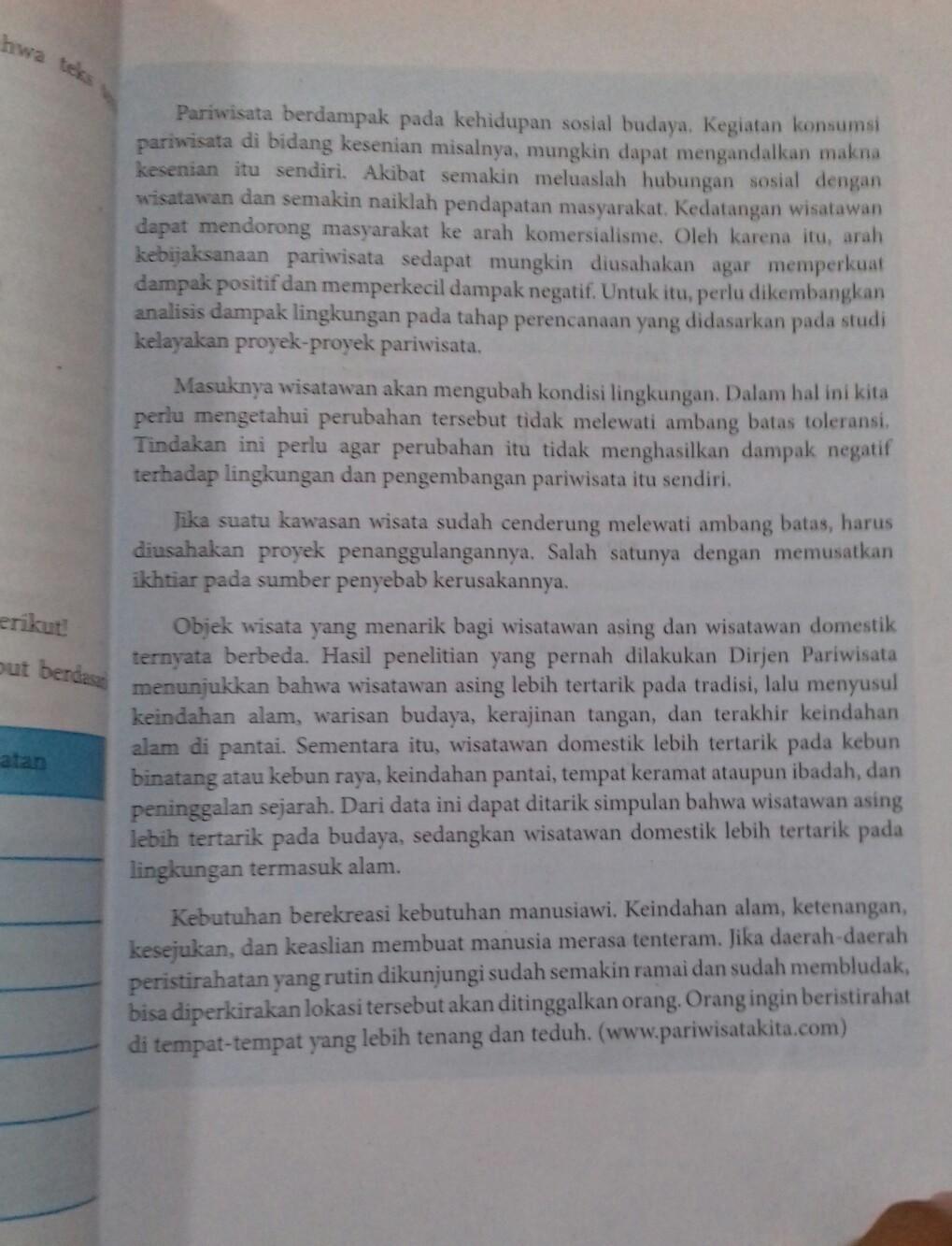 Tugas Bahasa Indonesia Kelas 8 Halaman 82 83 Buat Struktur Dan Menyebut Paragraf Brainly Co Id