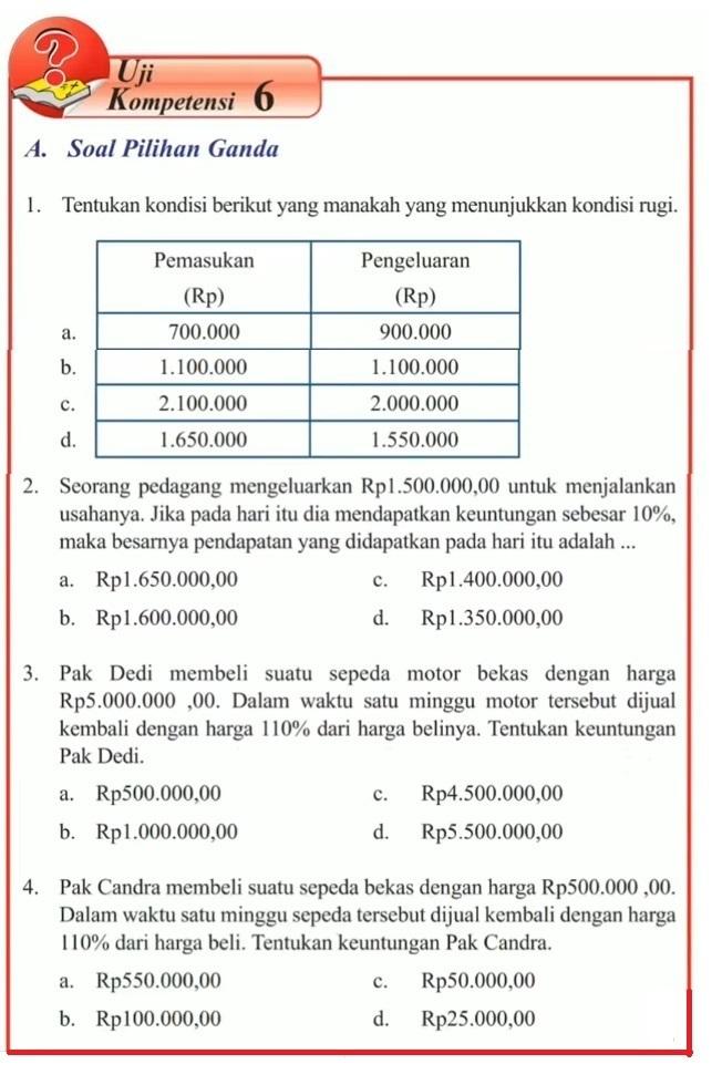 Kunci Jawaban Buku Matematika Kelas 10 Kurikulum 2013 ...