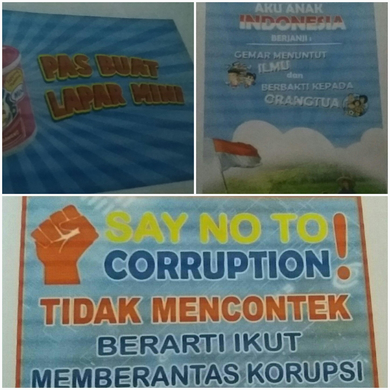 Perbedaan Dari Iklan Slogan Poster Dari Ketiga Gambar Di Atas