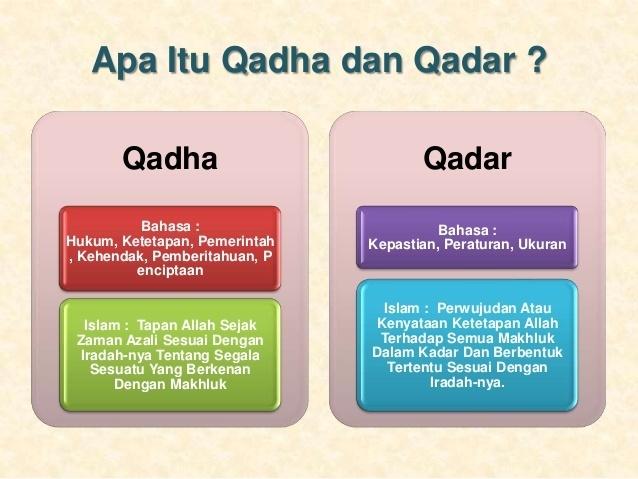 4 Contoh Perilaku Pengalaman Iman Kepada Qada Dan Qadar Brainly Co Id