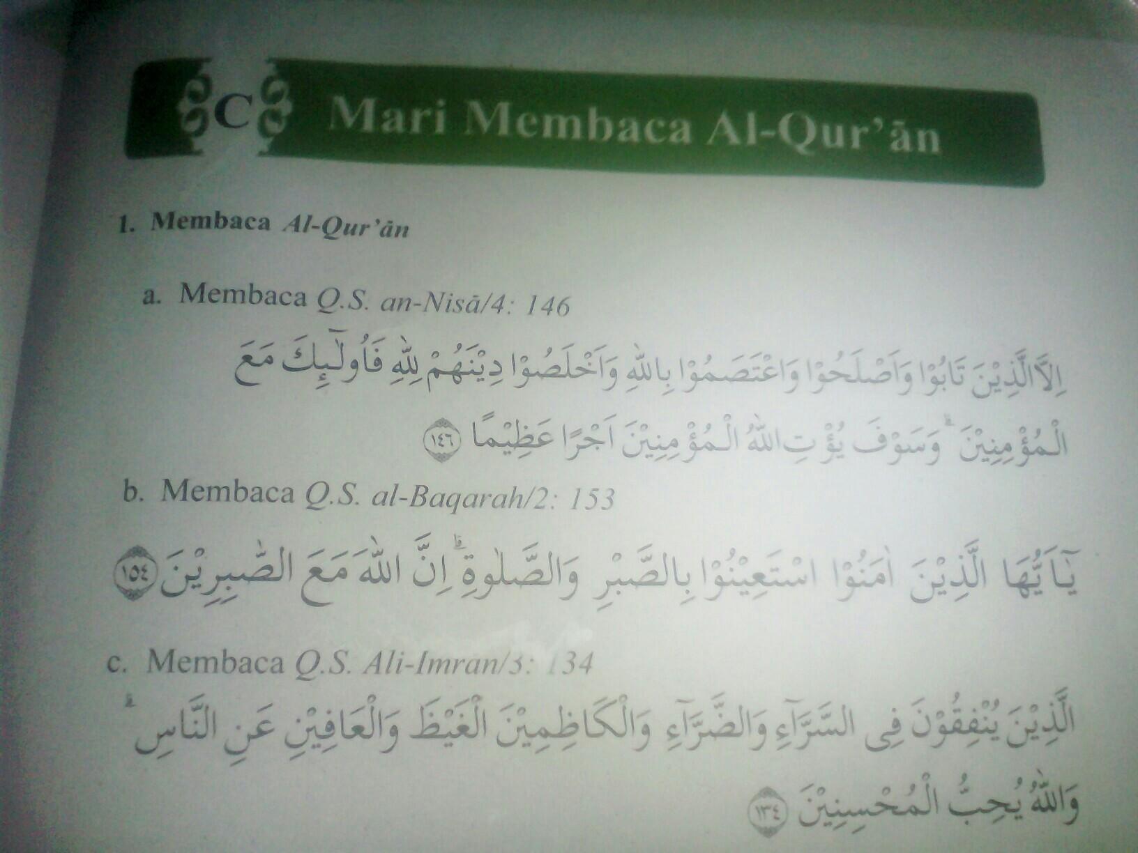 Sebutkan Hukum Bacaan Izhar Ikhfa Idgham Dan Iqlab Dalam Bacaan