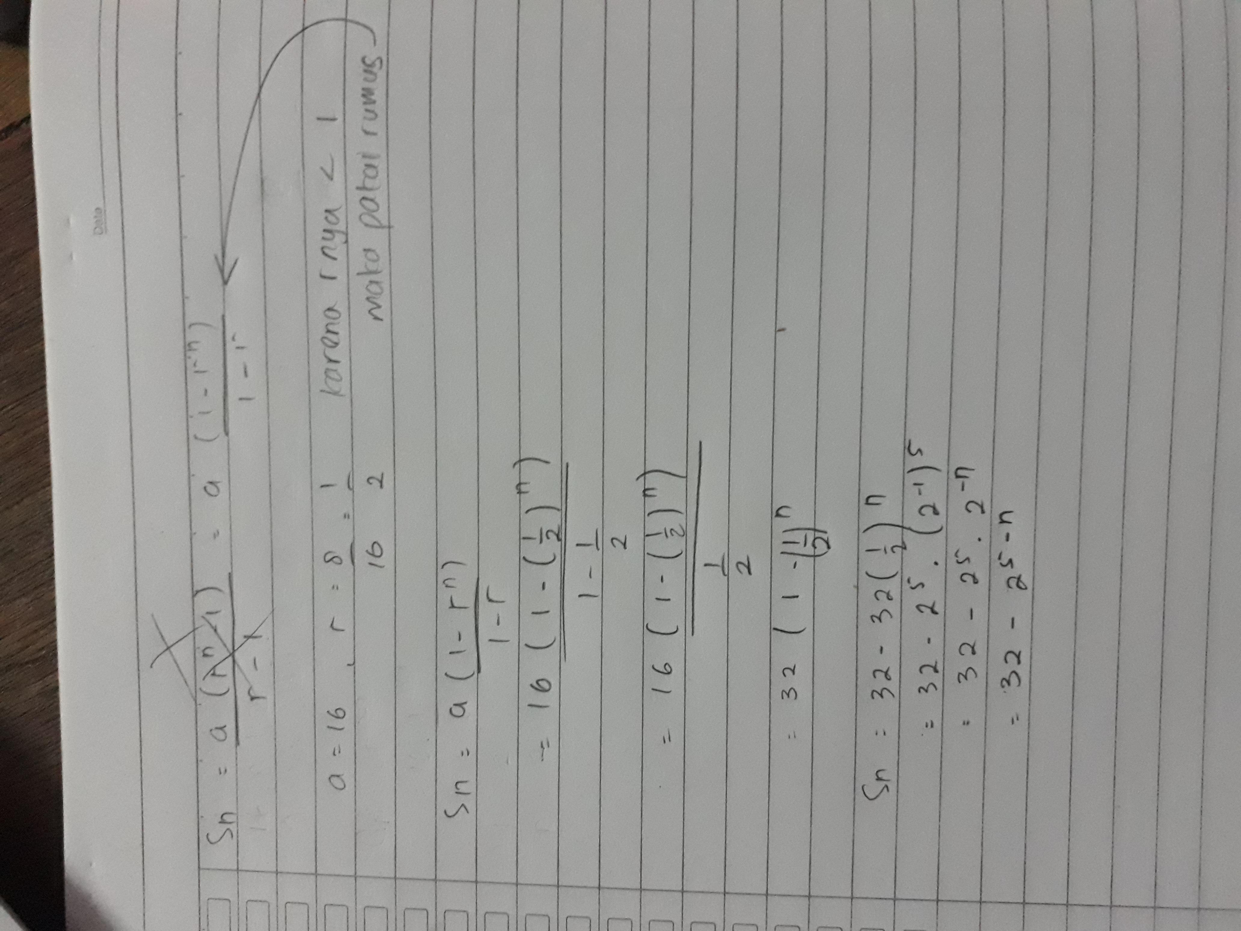 12++ Contoh Soal Menentukan Suku Ke N Barisan Geometri ...