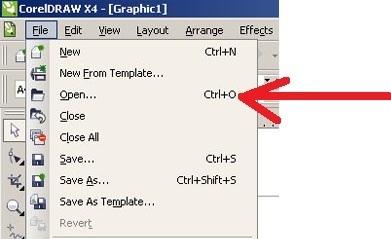 Bagaimana Cara Untuk Membuka File Corel Draw Yang Telah Disimpan Brainly Co Id