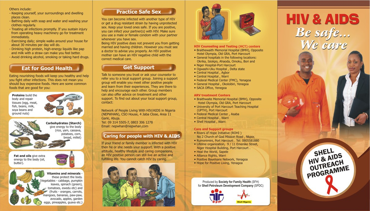 contoh gambar pamphlet,brochure dan poster beserta ...