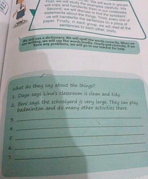Bahasa Inggris Kelas 7 Hal 105 Brainly Co Id
