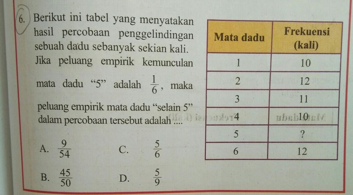 Berikut Ini Tabel Yang Menyatakan Hasil Percobaan Penggelindingan