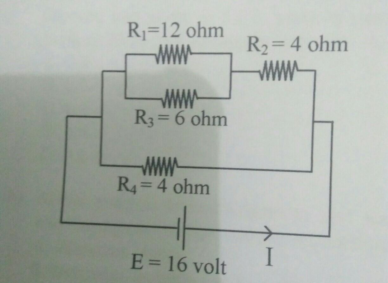 perhatikan gambar rangkaian listrik di bawah Ini! kuat ...