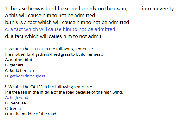 12 Contoh Soal Cause And Effect Essay Dan Jawabannya Kumpulan Contoh Soal
