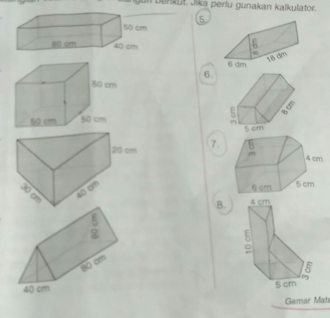 Kunci Jawaban Matematika Kelas 5 Gemar Matematika