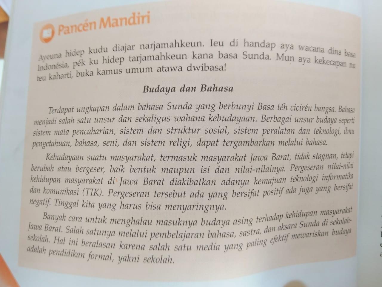Terjemahkan Ke Dalam Bahasa Sunda Di Bantu Yahh Brainly Co Id