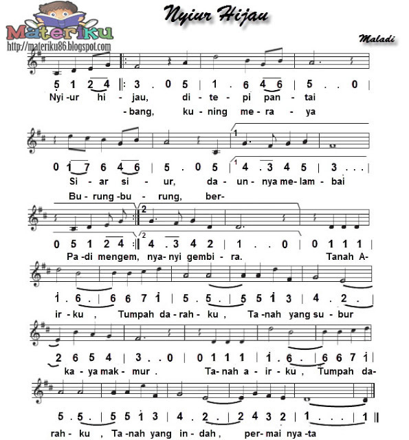 Kumpulan Lagu Wajib Nasional Pdf