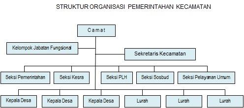 gambarkan struktur organisasi kelurahan dan kecamatan brainly co id Struktur Organisasi Kelurahan unduh jpg