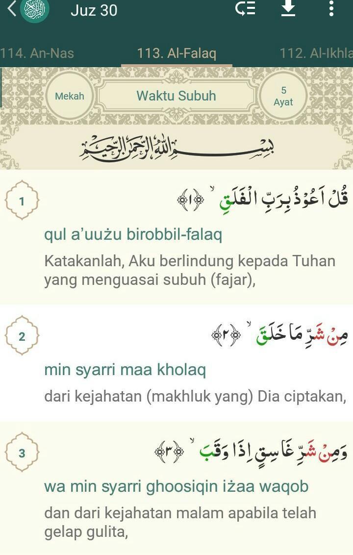 Bagaimana Bunyi Surat Al Falaq Ayat 3 Brainlycoid