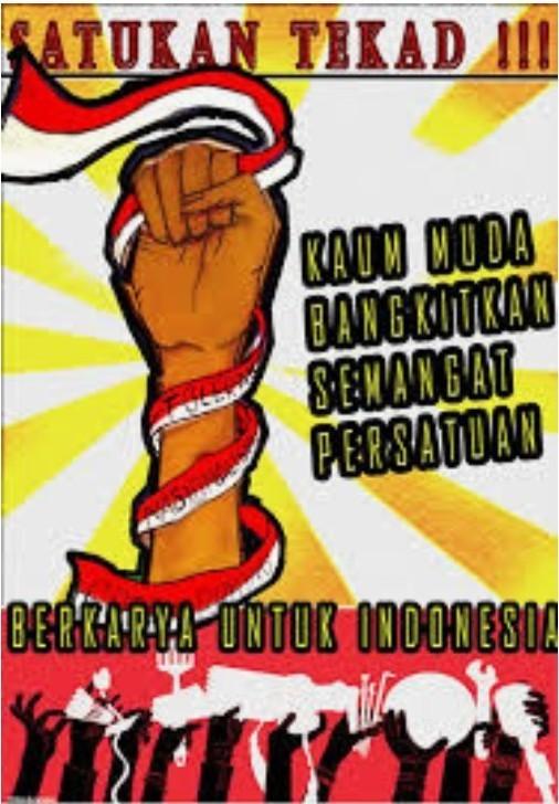 Bagaimana Cara Membuat Poster Tentang Manfaat Nilai Persatuan Dan