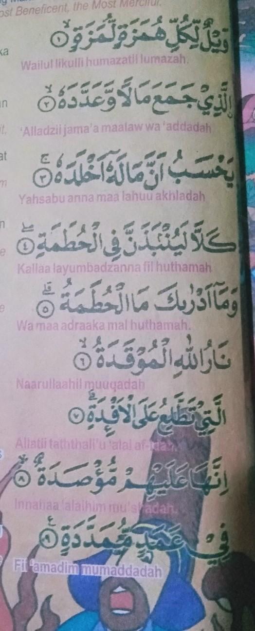 Surah Al Humazah Di Turunkan Setelah Surah Brainlycoid