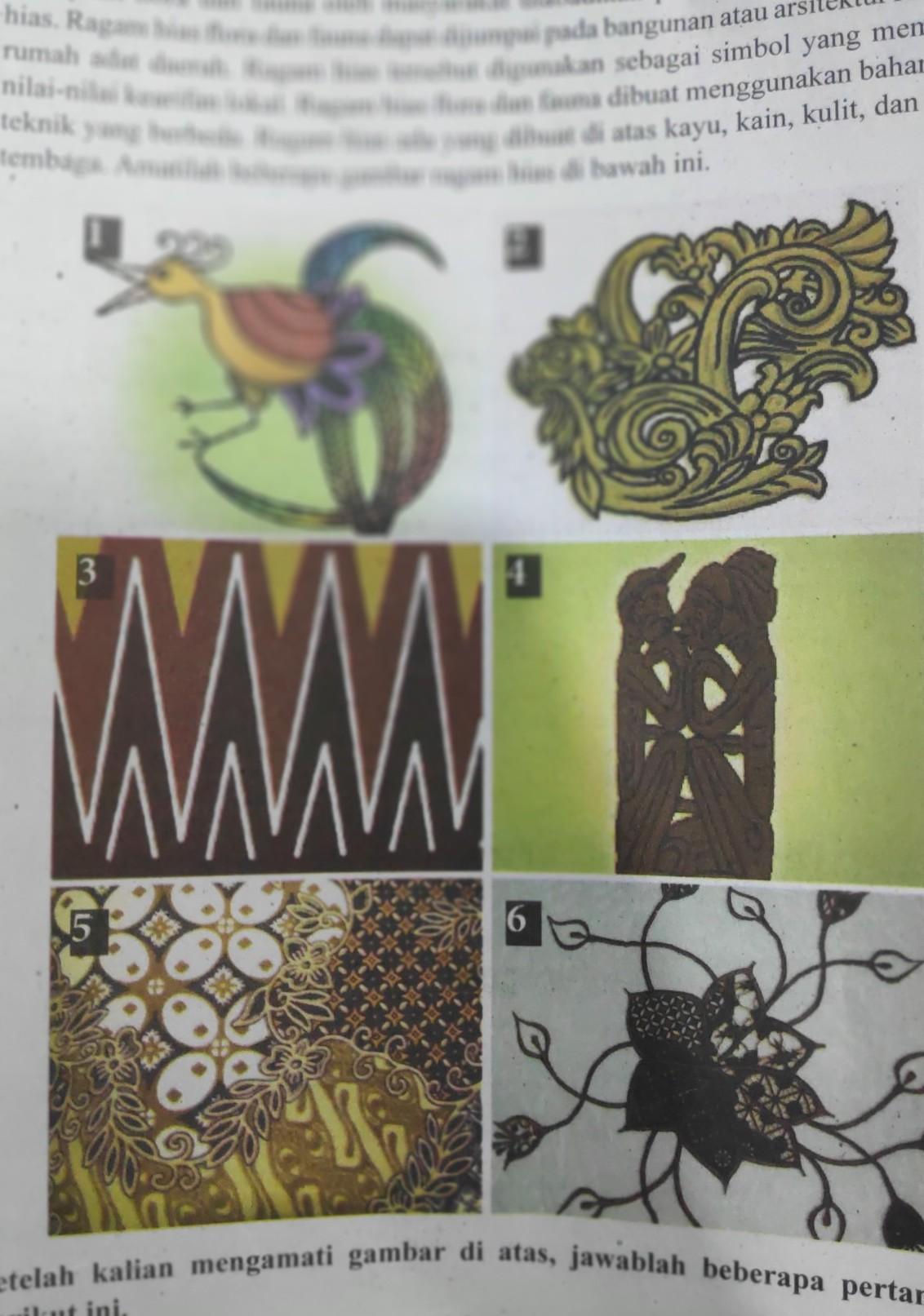 94+ Gambar Ragam Hias Flora Fauna Geometris Paling Hist