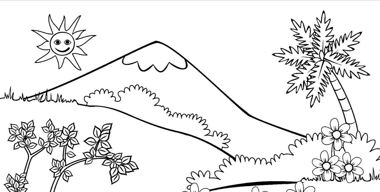 Buatlah 2 Sket Gambar Flora Dan Fauna Brainly Co Id