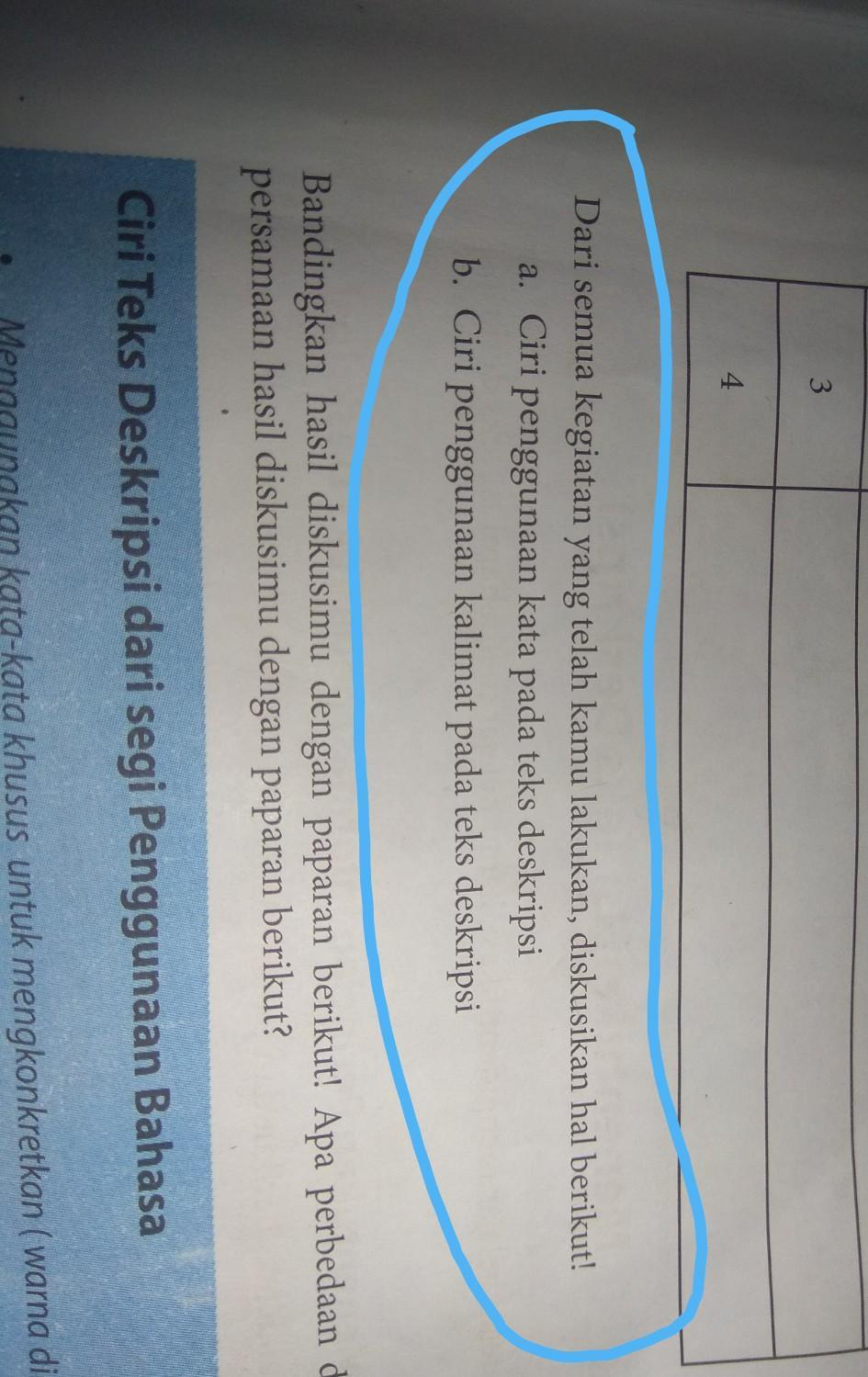 Jawaban Bahasa Indonesia Kelas 7 Semester 1 Halaman 11 Brainly Co Id