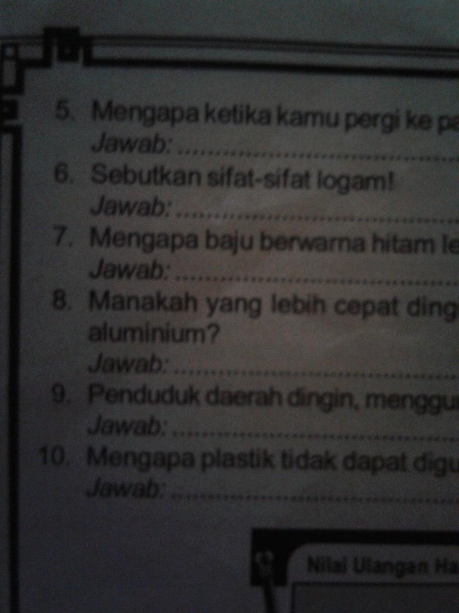Jawaban Nomor 6 Apaan Brainly Co Id