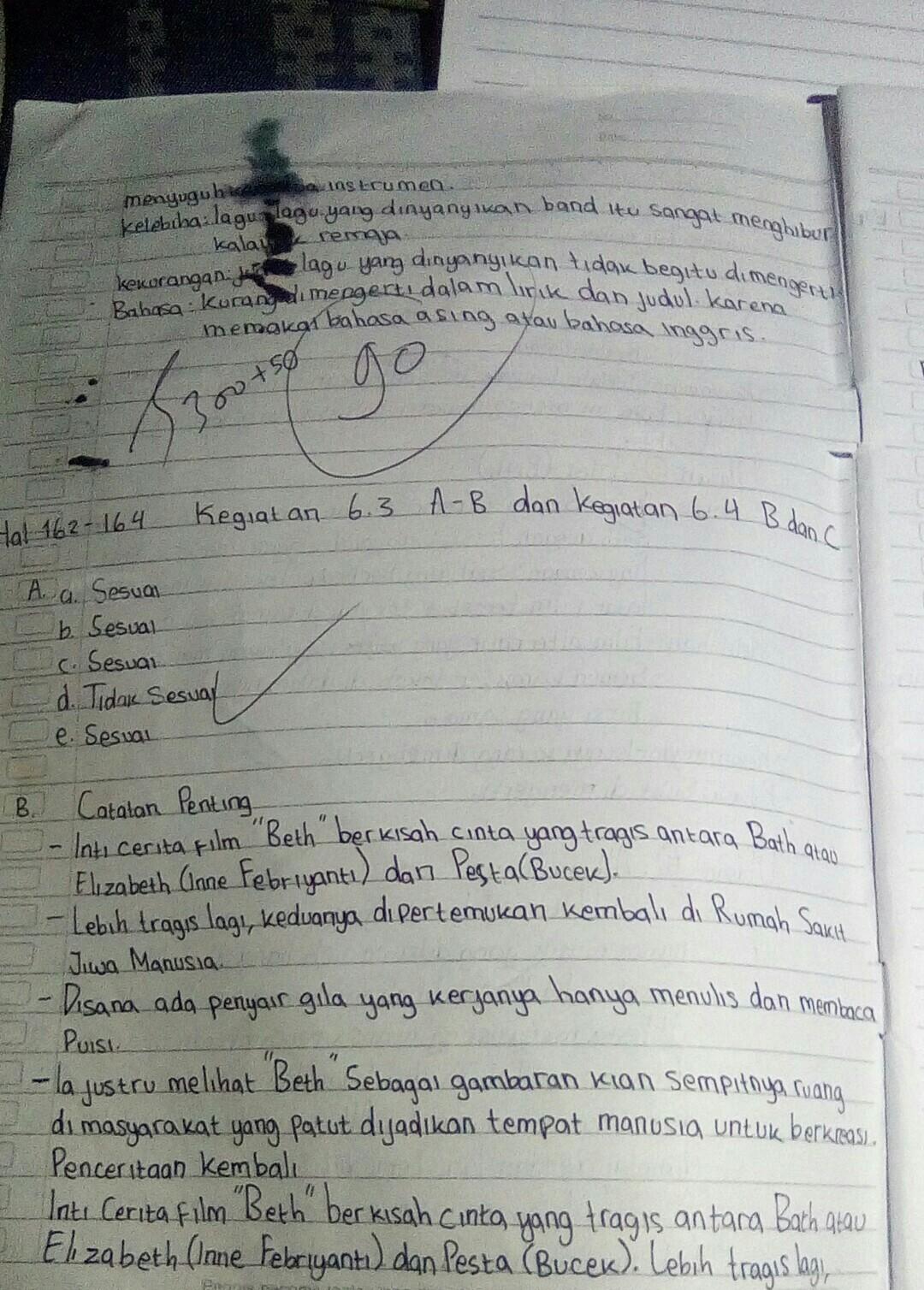 Jawaban Bahasa Inggris Kelas 8 Halaman 74