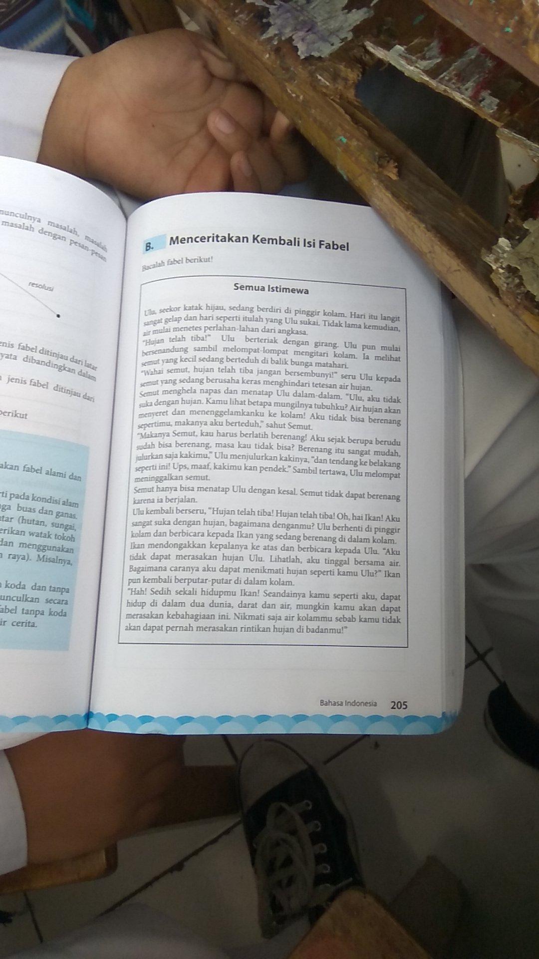 Contoh Fabel Koda Dan Tanpa Koda Download Gambar Online