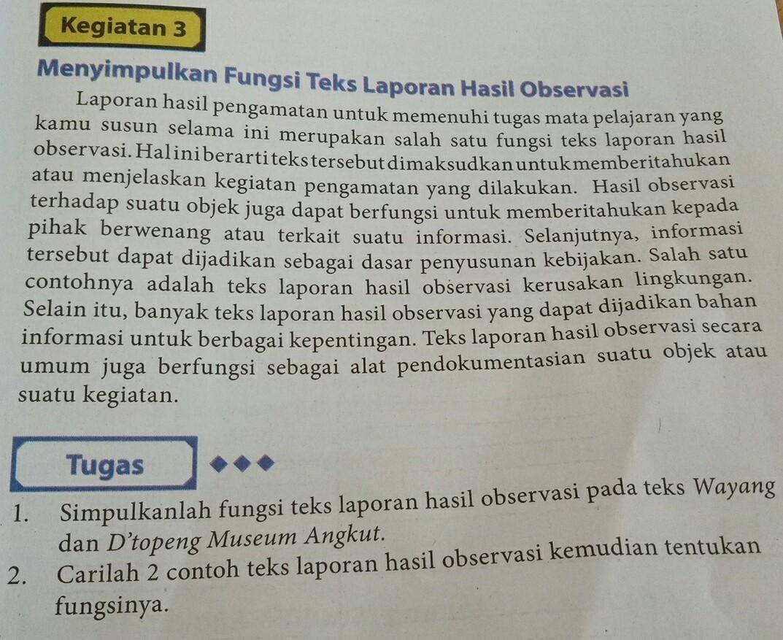 Tolong Bantu Jawab Pertanyaan Tsb Bahasa Indonesia Kelas X Hal 21