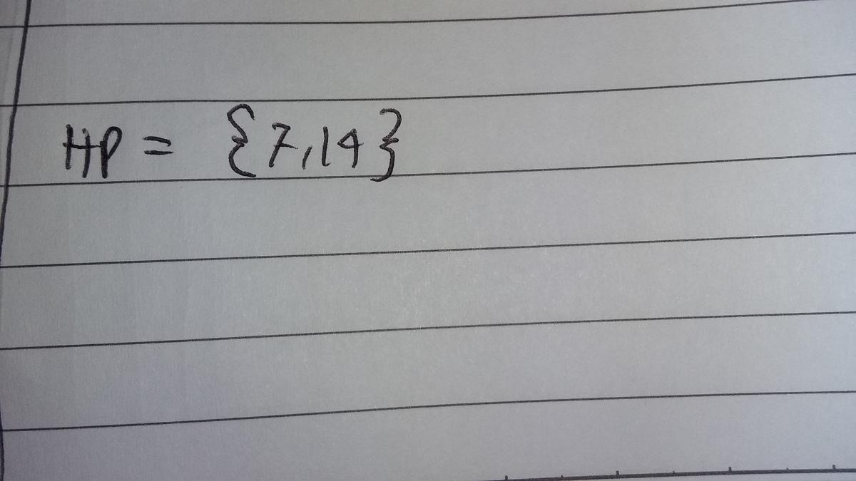 m adalah kelipatan 7 yang kurang dari 20 tentukan himpunan ...