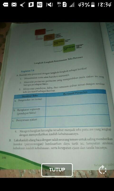 Contoh Soal Bahasa Indonesia Kelas 8 Semester 2 Tentang ...