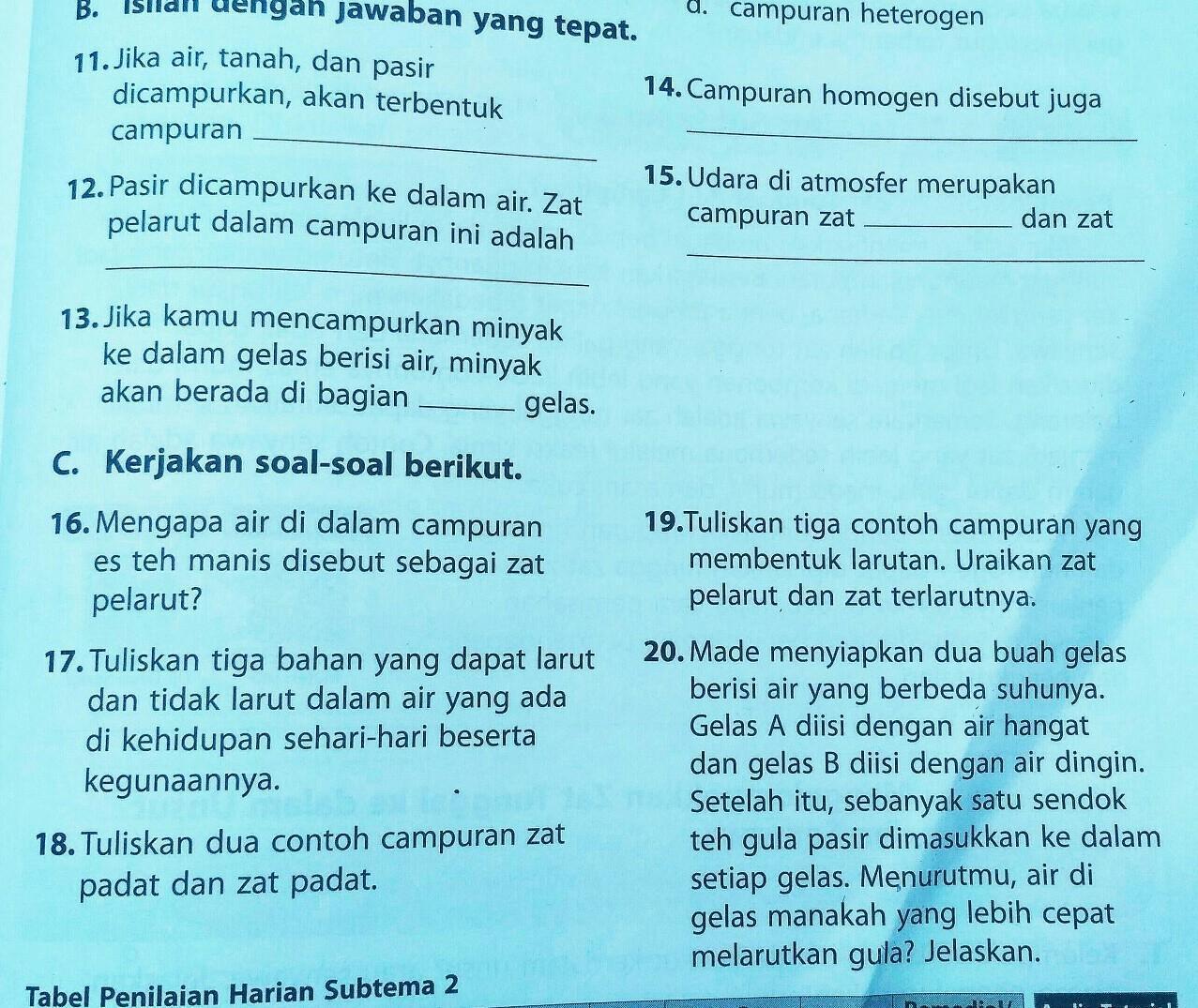 Kakak2 Dan Adek2 Siapa Yang Bisa Jawab Soal Di Atas Ini 11 20 Kalau Bisa Jawab Ya Soalnya Mau Brainly Co Id