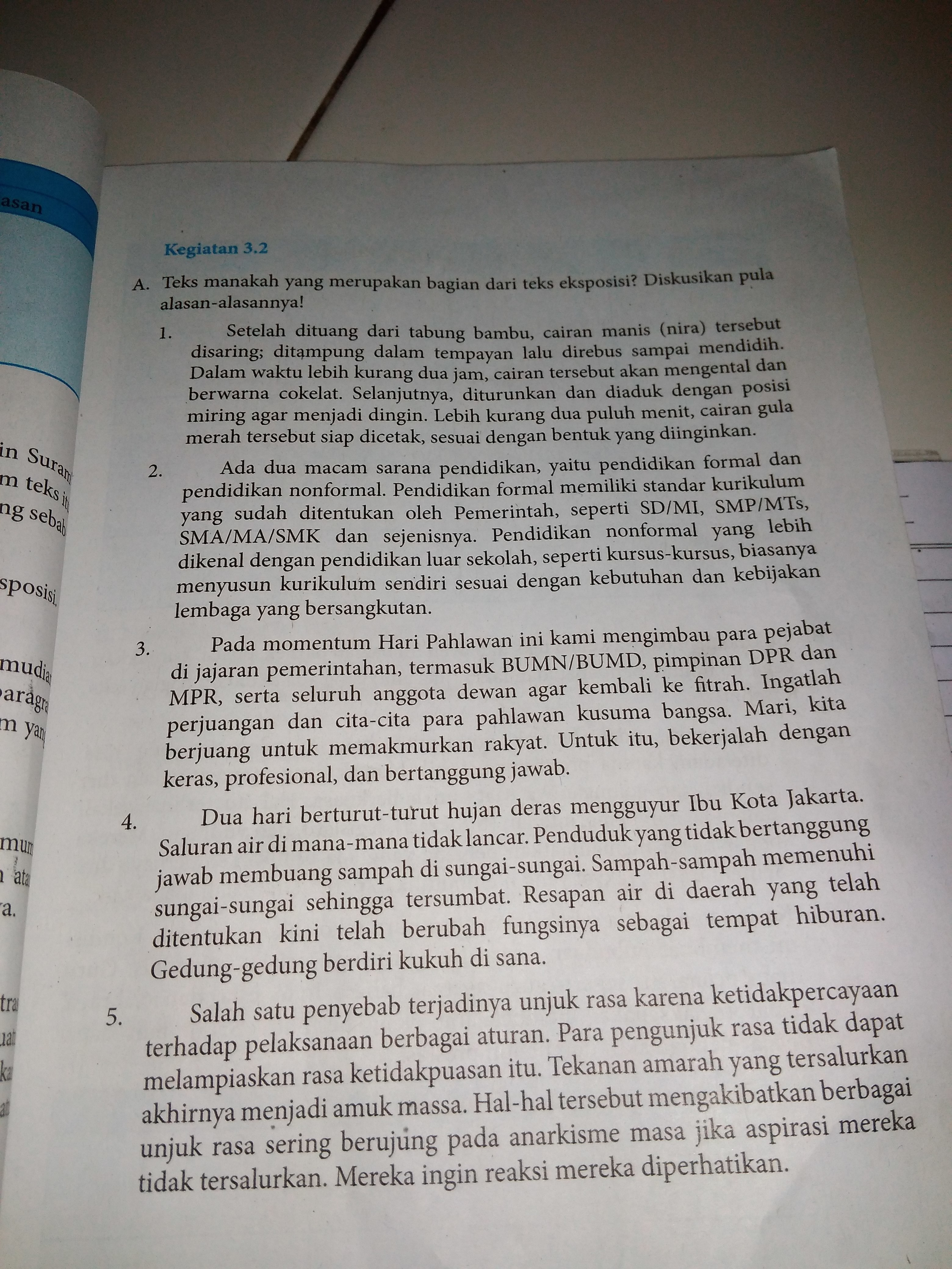 Kunci Jawaban Bahasa Indonesia Halaman 65 Guru Galeri
