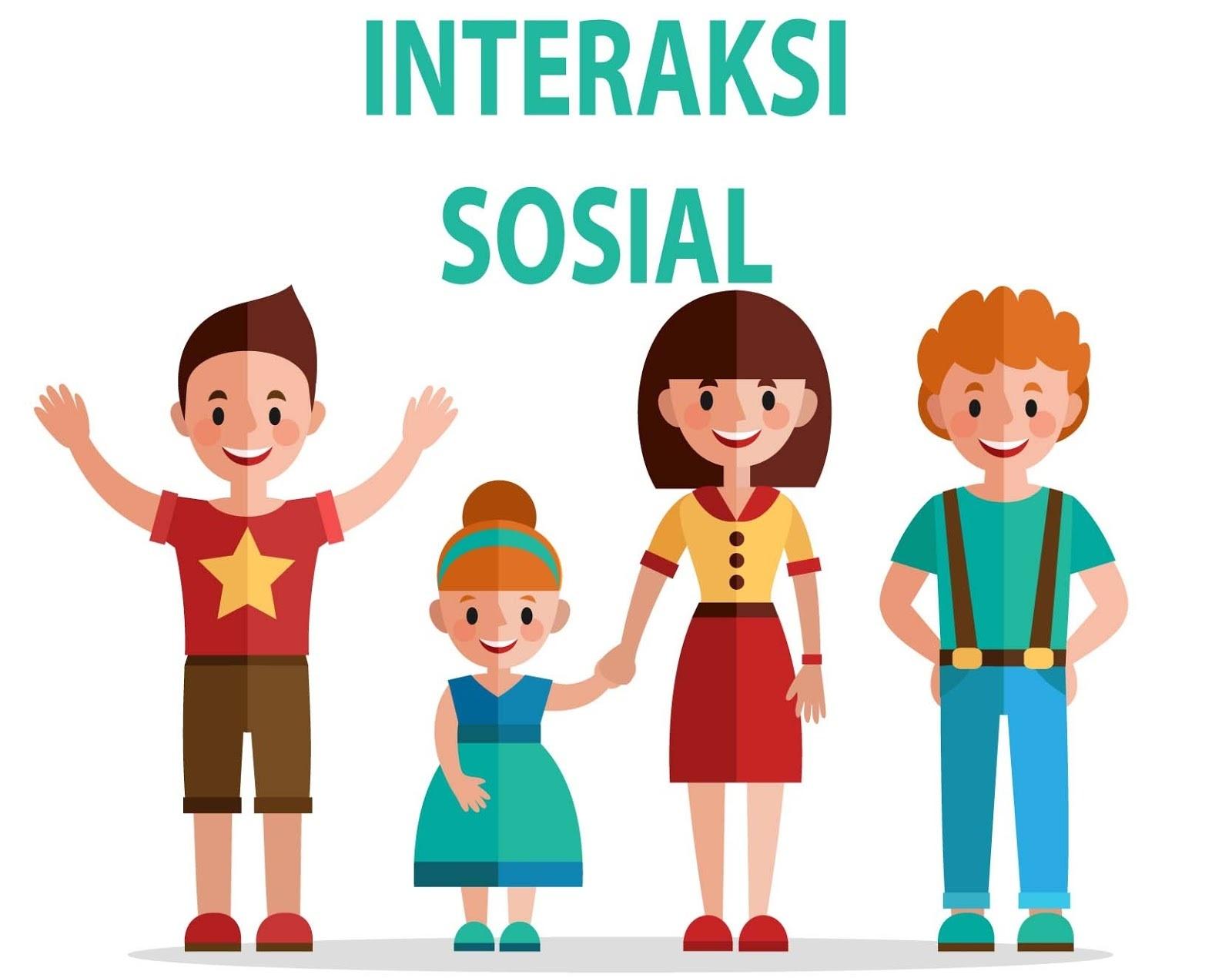 Contoh Gambar Interaksi Sosial Individu Dengan Individu ...