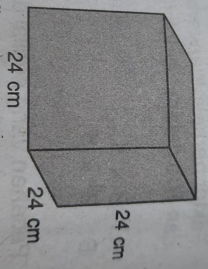 Amir akan membuat sebuah kubus dari kertas karton. Ukuran ...