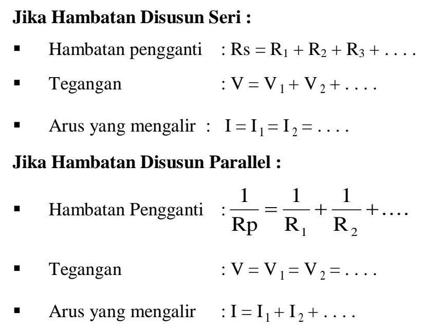 Sebutkan Dua Perbedaan Antara Rangkaian Seri Dan Rangkaian Paralel Brainly Co Id