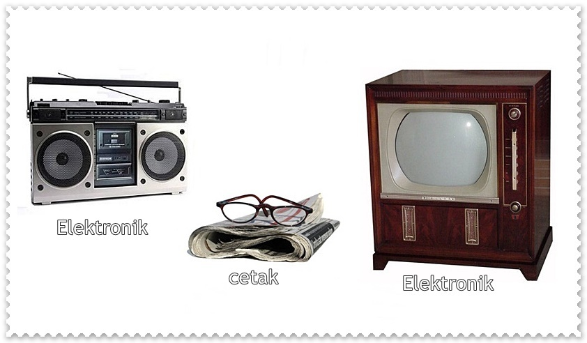 Apa Perbedaan Media Cetak Dan Media Elektronik Brainly Co Id