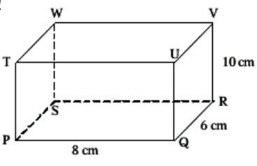 Perhatikan balok pqrstuvw seperti pada gambar jika titik a adalah unduh png ccuart Image collections
