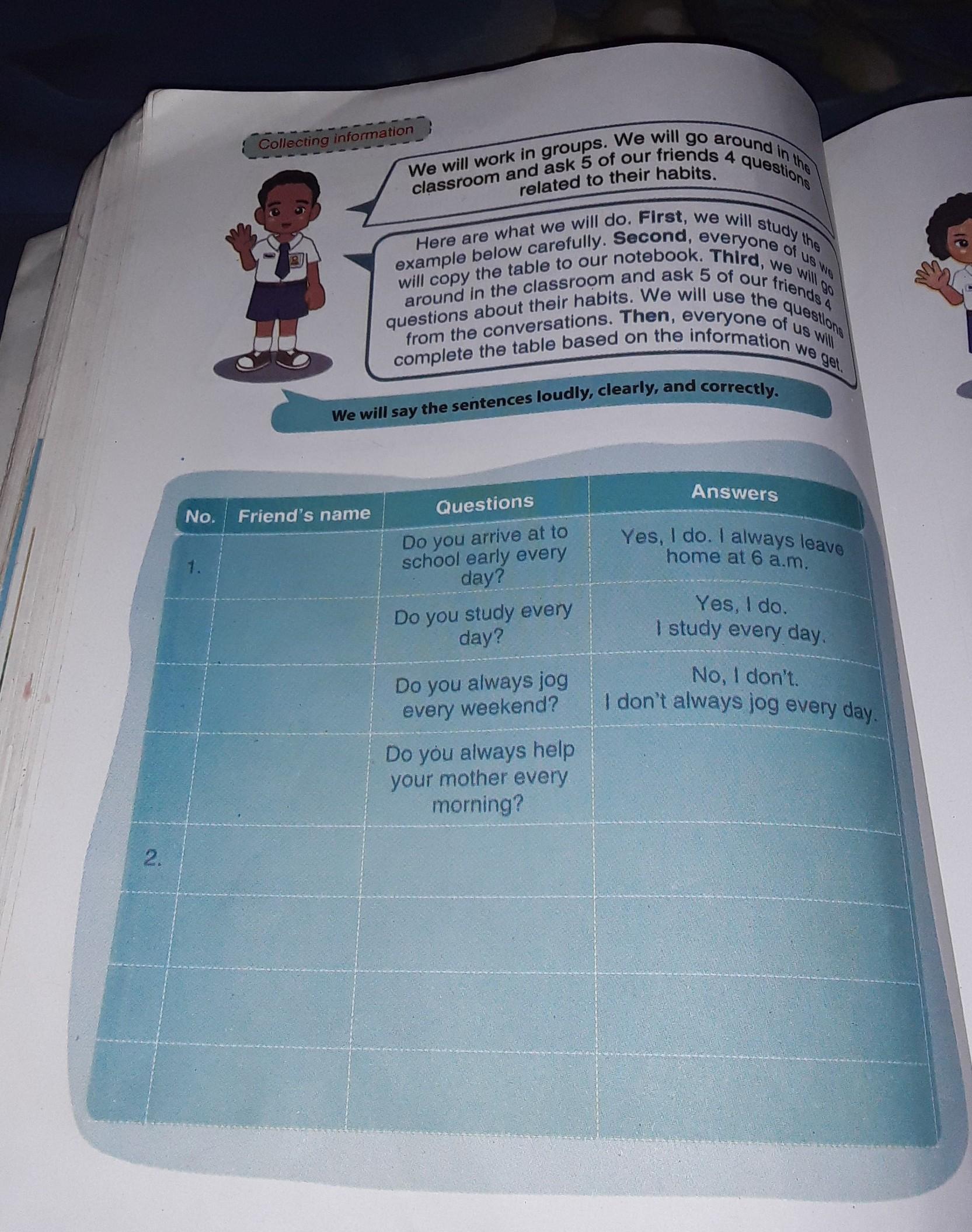 Jawaban Bahasa Inggris Kelas 7 Halaman 138 Kerjain Yang Benar Jika Tidak Benar Akan Di Blokir Brainly Co Id