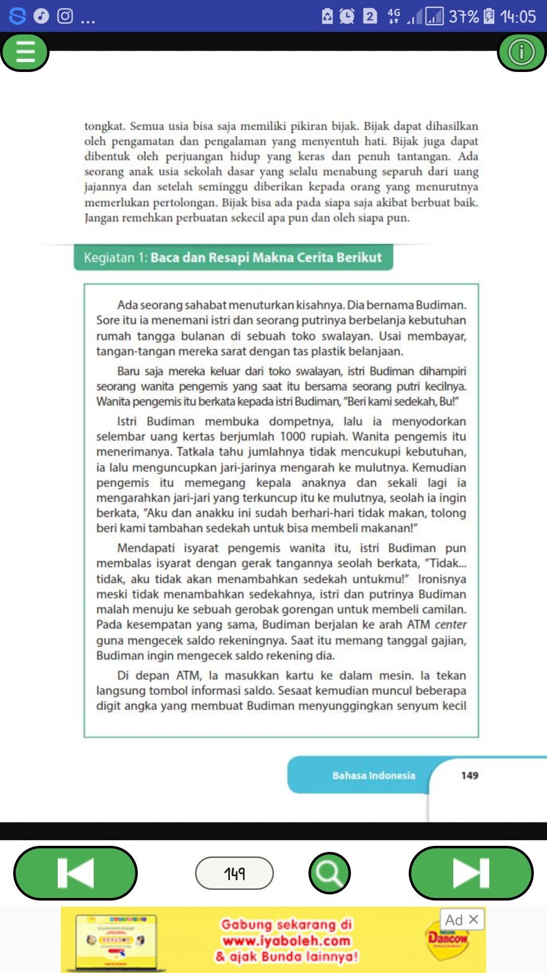Jawaban Buku Paket Bahasa Indonesia Kelas 9 Halaman 151 Ilmusosial Id