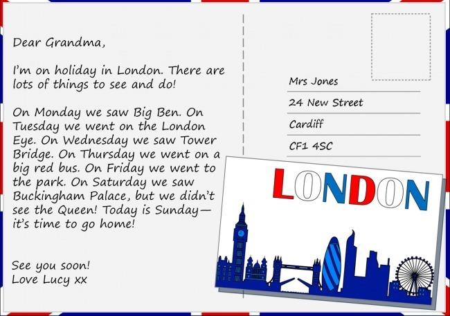 Contoh Membuat Postcard Brainly Co Id