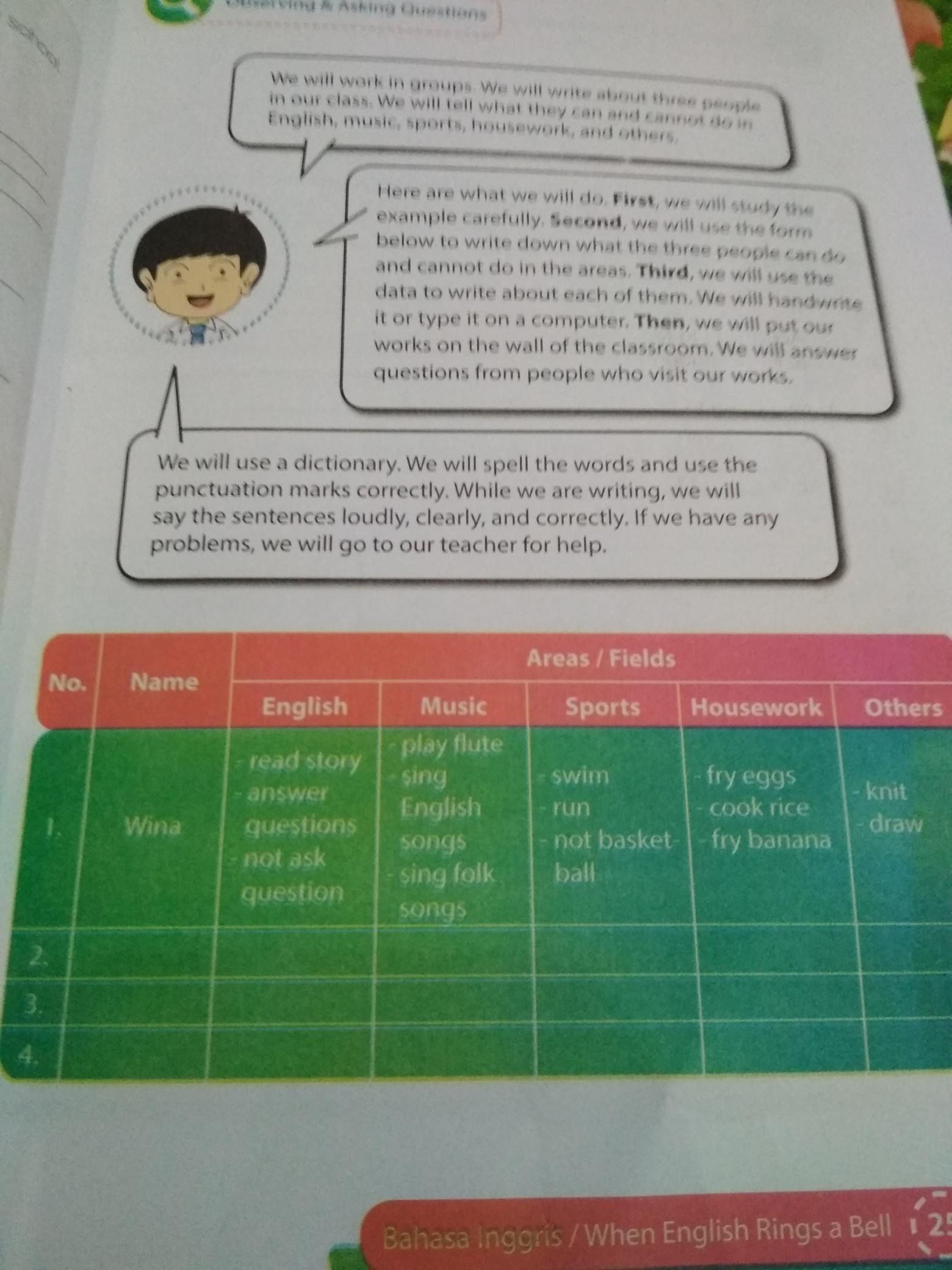 Jawab Bahasa Inggris Halaman 25 Kurikulum 2018 Kelas 8 Brainly Co Id