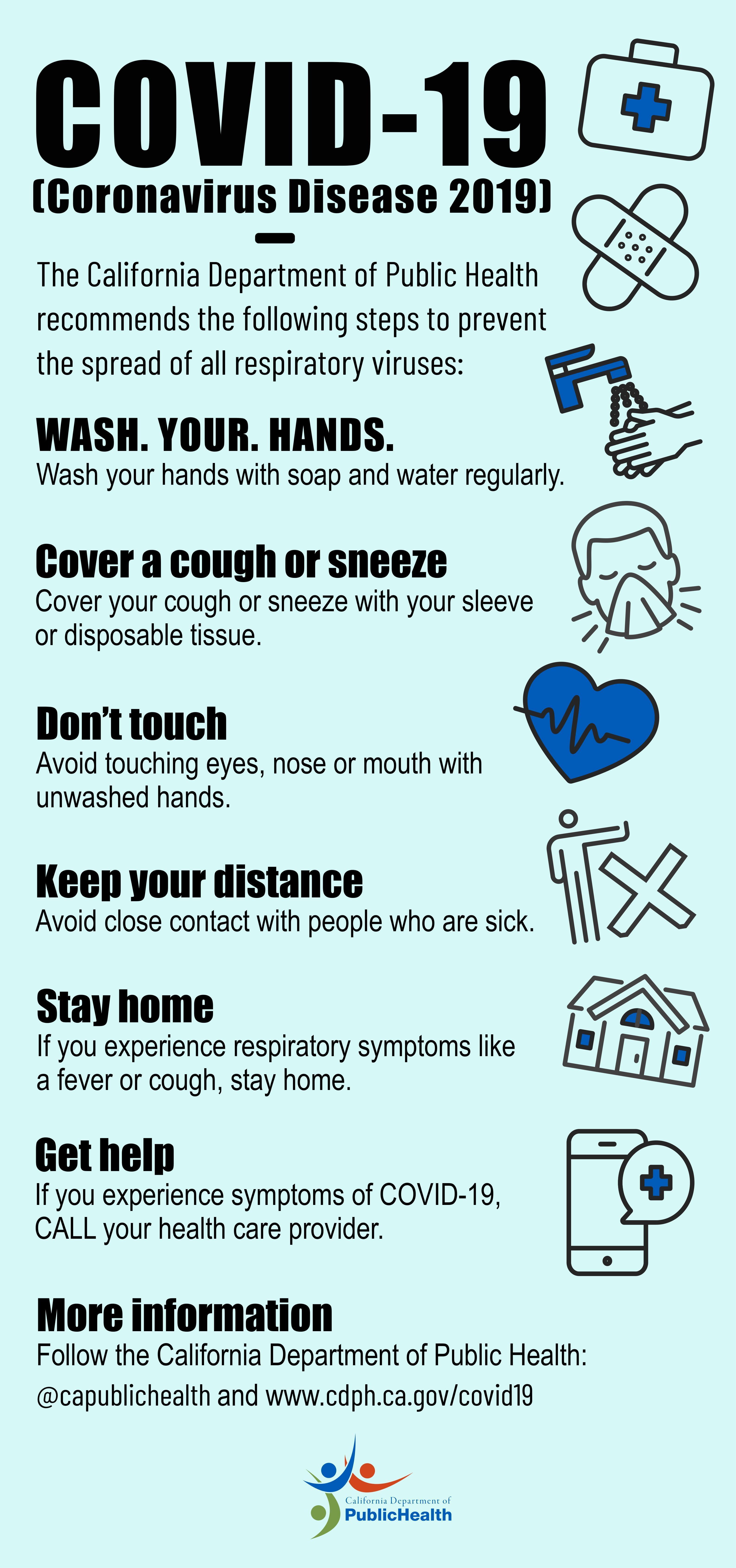 Poster Pencegahan Covid 19 Yang Mudah Digambar Untuk Anak ...