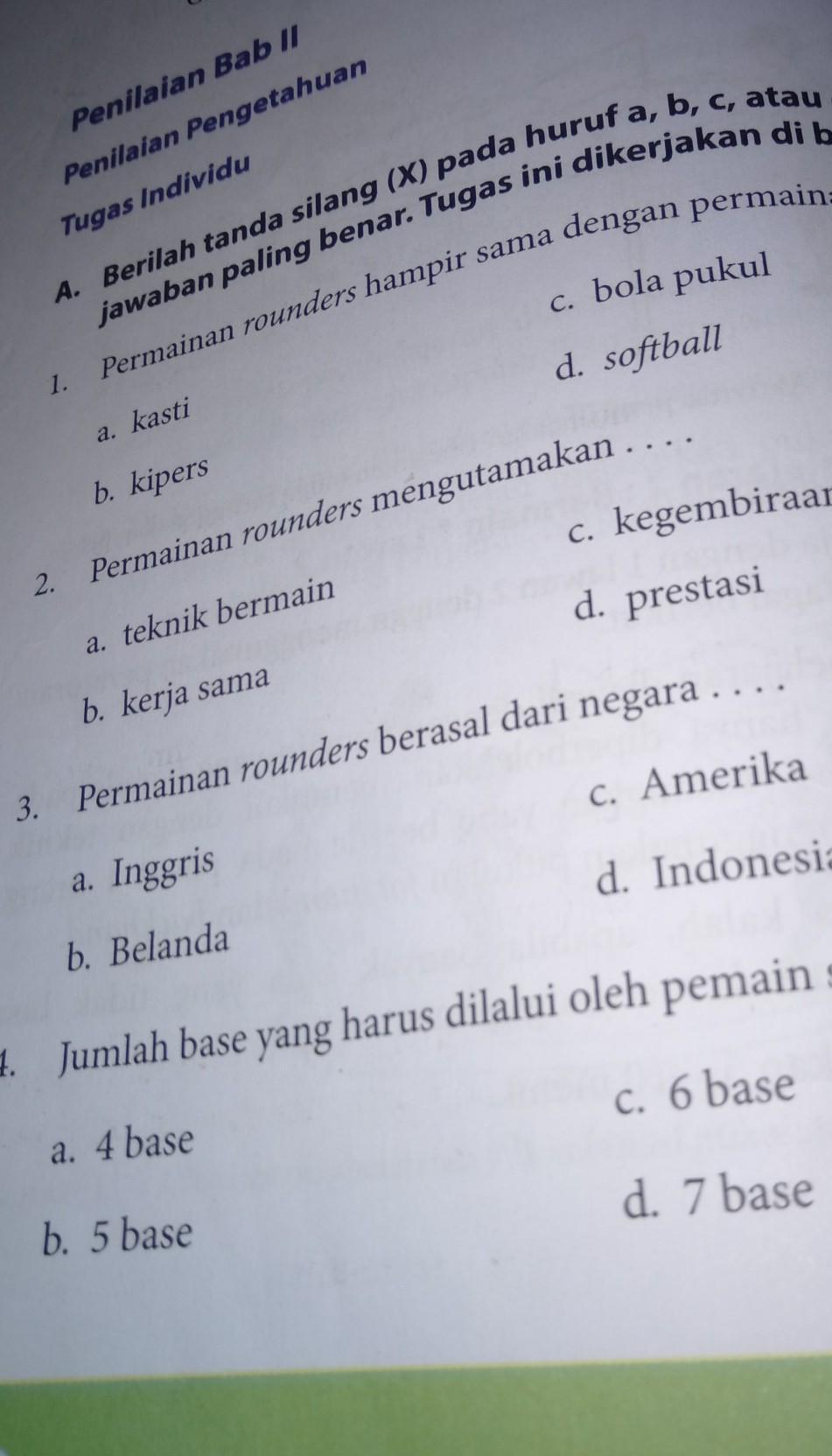 Kunci Jawaban Penjaskes Kelas 9 Halaman 62 Guru Galeri