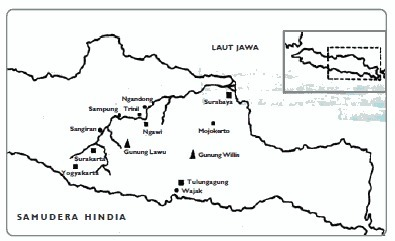 Gambarkan Peta Persebaran Manusia Purba Di Jawa Tengah Brainly Co Id
